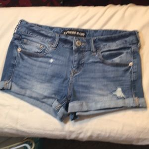 Small Express Jeans Shorts! Size 2